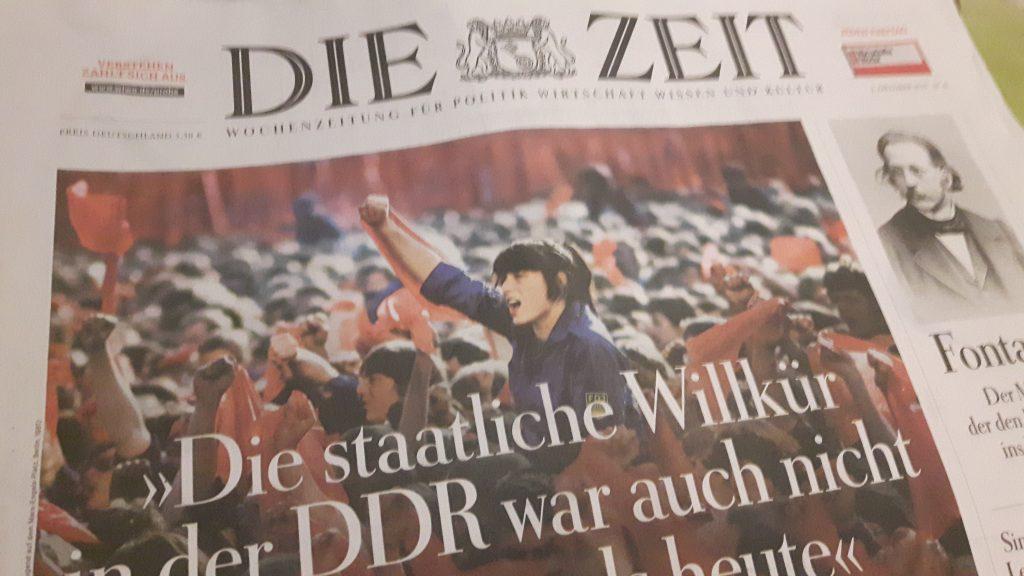 Die Zeit: Ausgabe zum Tag der deutschen Einheit 2019
