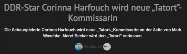 Corinna Harfouch, ein
